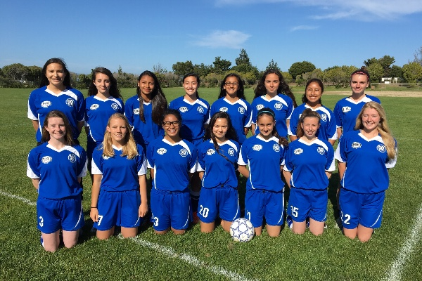 AYSO San Bruno / South San Francisco, U-16 Girls National Soccer Team
