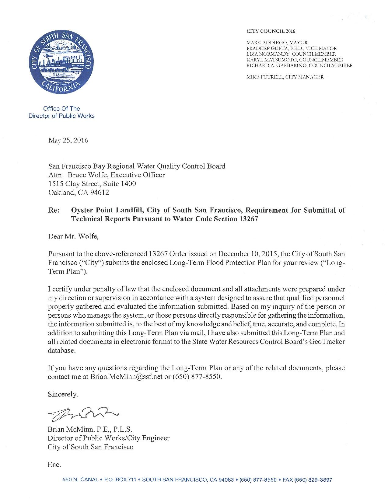 City of SSF Oyster Pt. Landfill Long-Term Flood Protection Letter & Plan-2-page-001