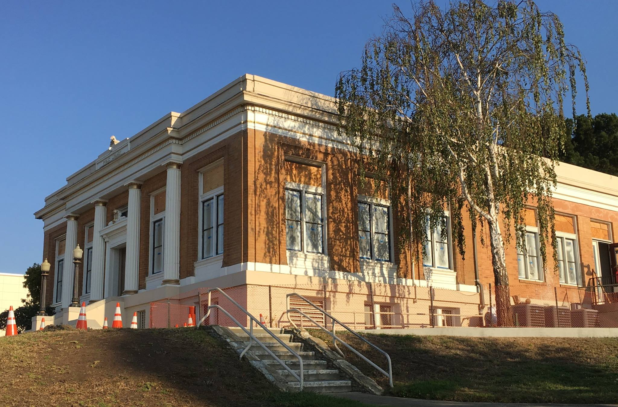 The Grand Ave Library is set to re-open Oct 15 Photo: SSF