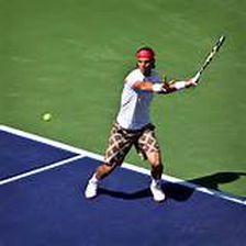 Paul Swink, the owner of Sweet Spot Tennis & Training