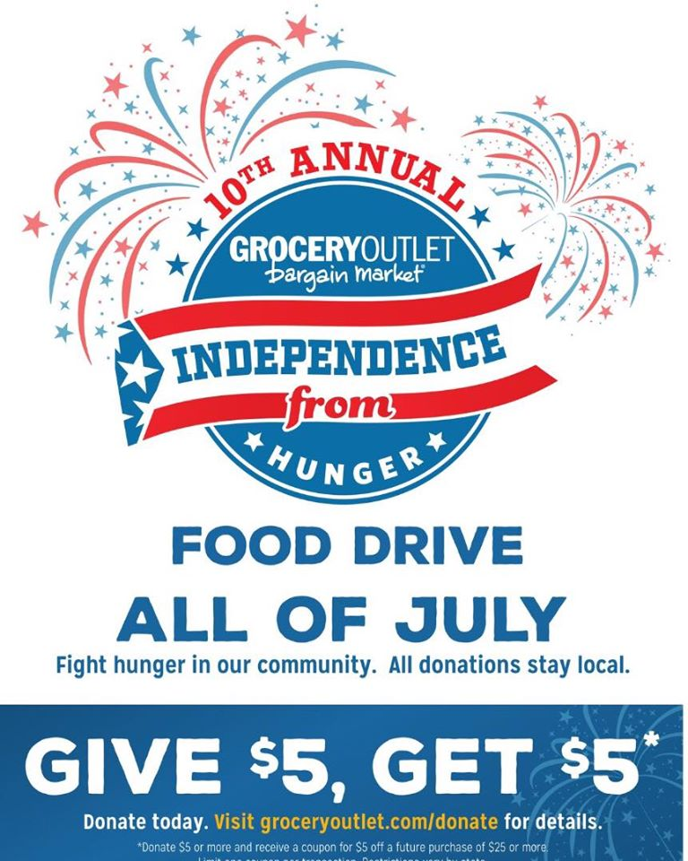 Support Grocery Outlet S Feed The Need Campaign Through Out July Everything South City