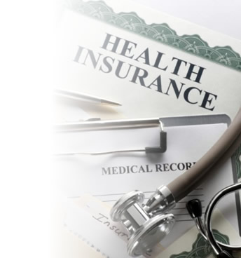 Picture of health insurance form.