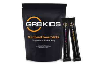 GR8 KIDS pouch with 2 stick packs