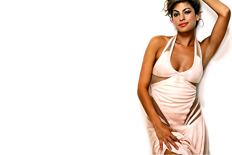 Eva-Mendes-Wallpapers-HD-aganist-the-wall