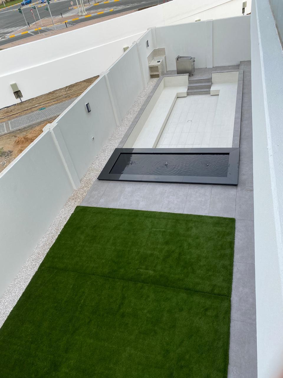 حديقة خارجية في مساحة صغيرة