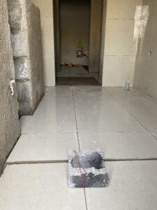 خفض منطقة الاستحمام 1 سم عن باقي الحمام في مدينة الشامخة