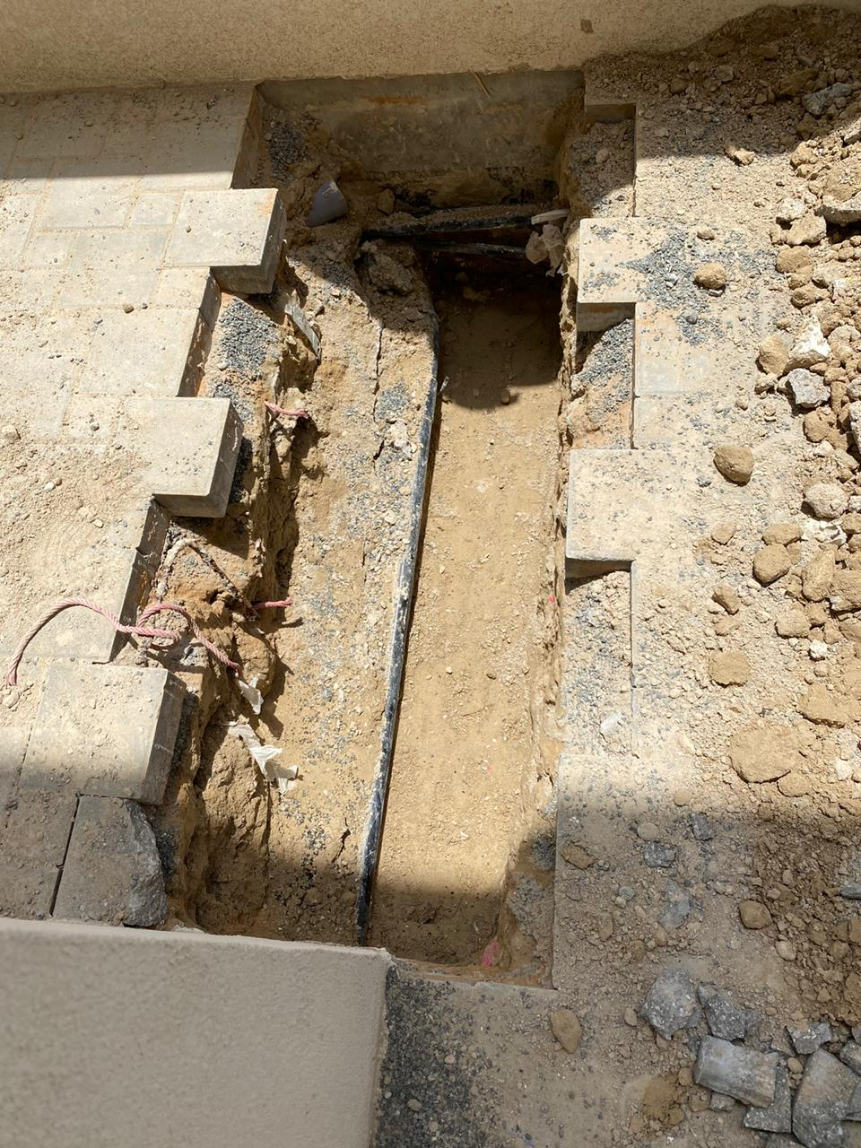بدء اعمال الحفر لمطبخ خارجي في ويست ياس
