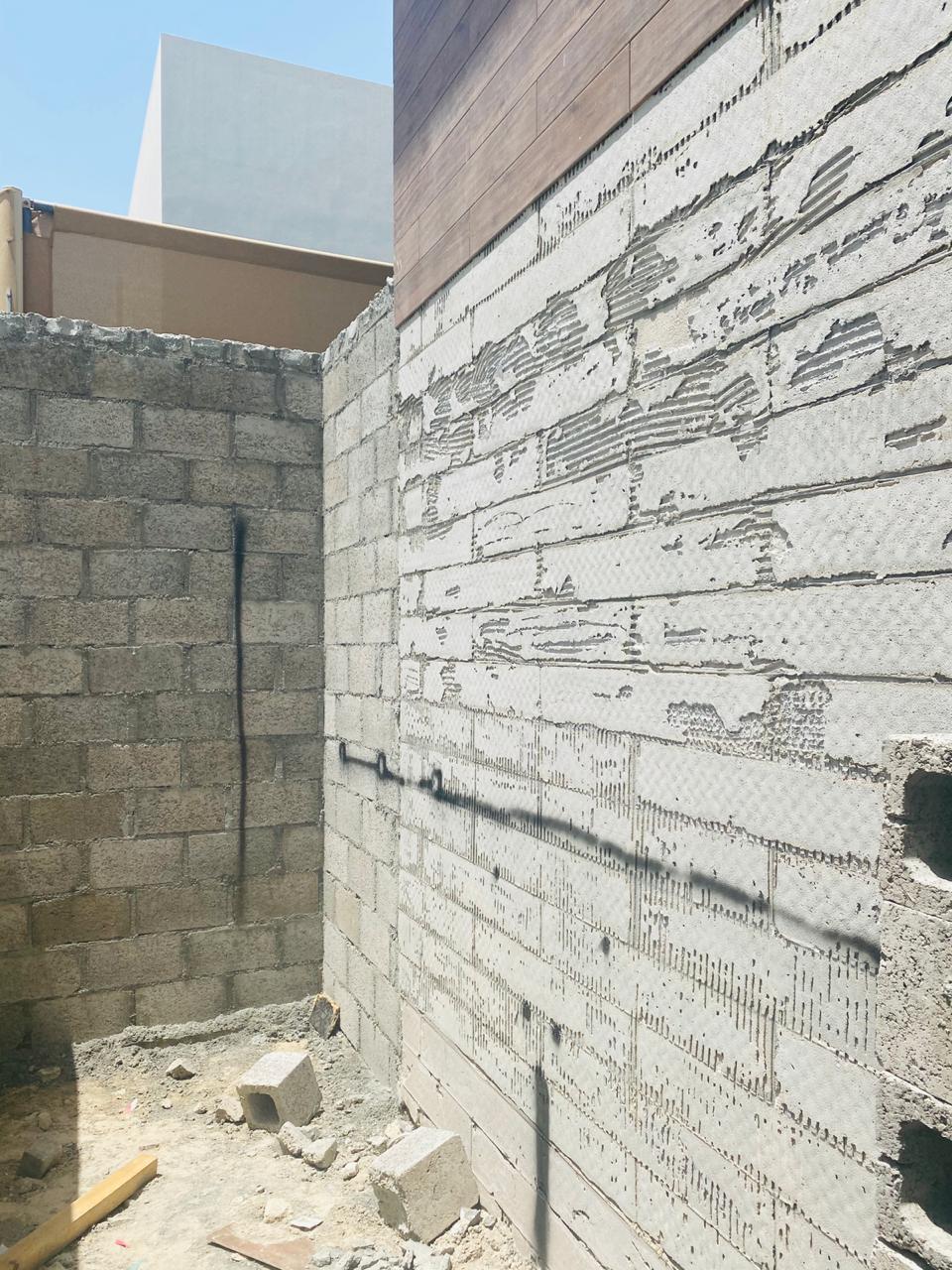 بناء طابوق في ويست ياس