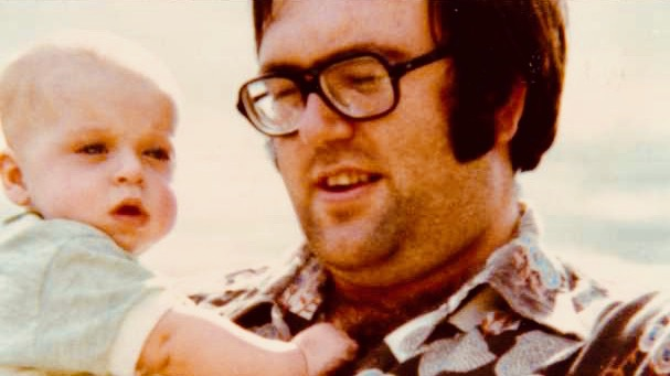 Photo of me and Dad.