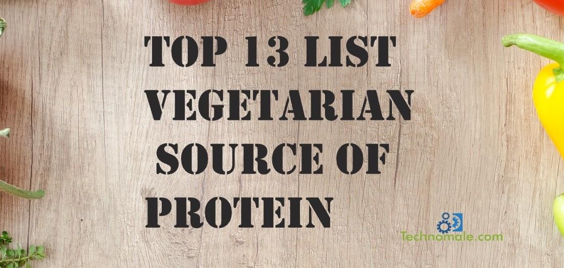 Vegeterian source