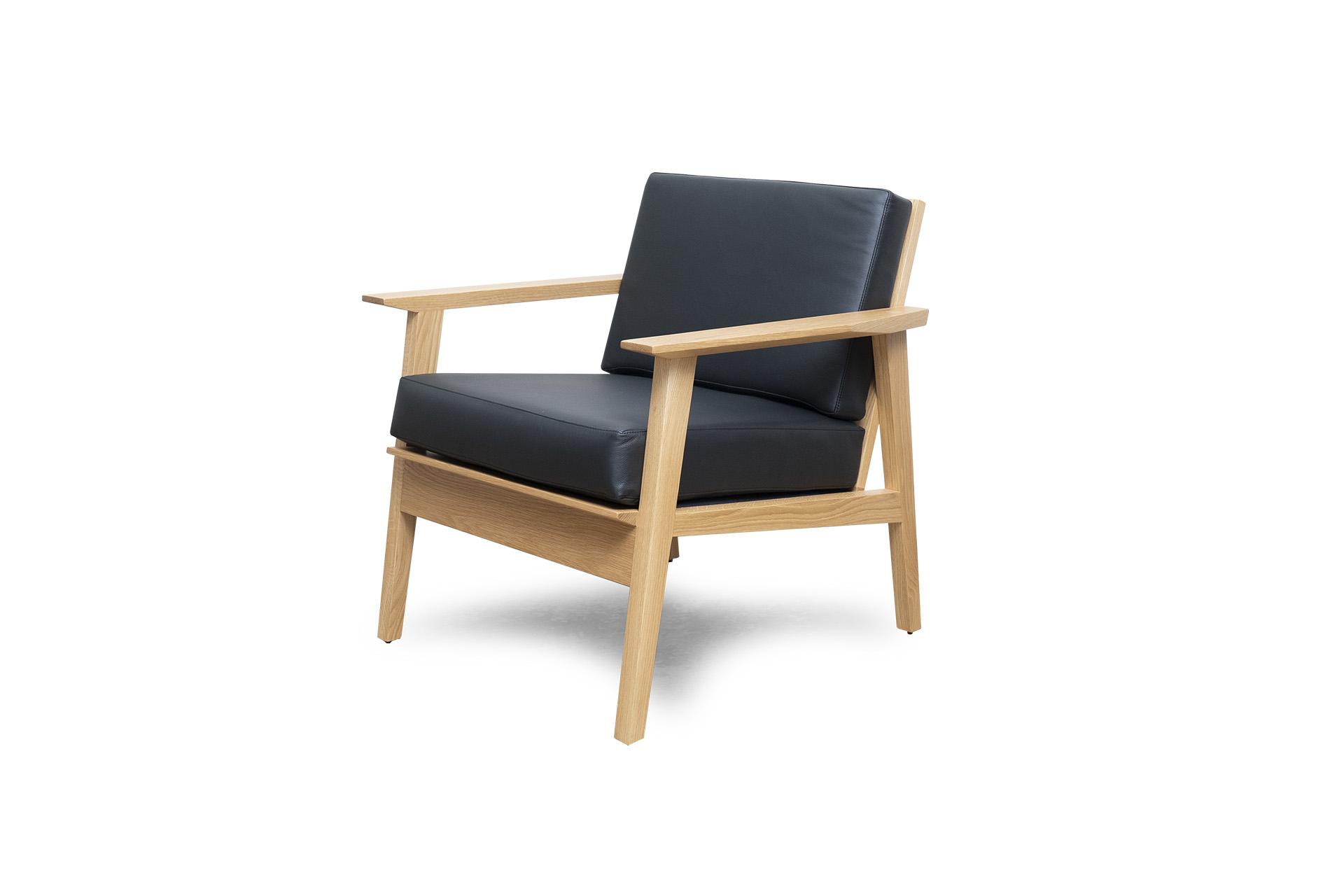 Melrose Chair in White Oak