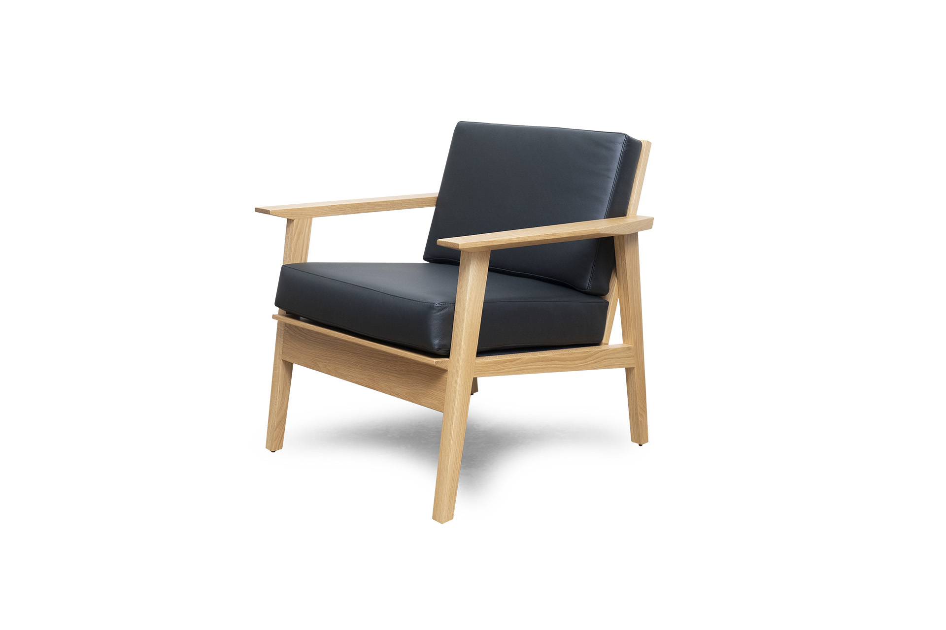 Melrose Chair in White Oak
