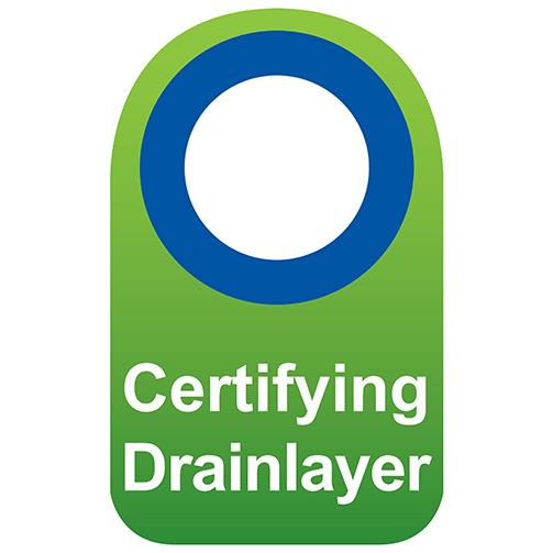 Certifying Drainlayer