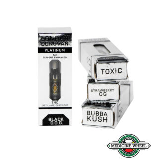Platinum Vaporizer Cartridge THC