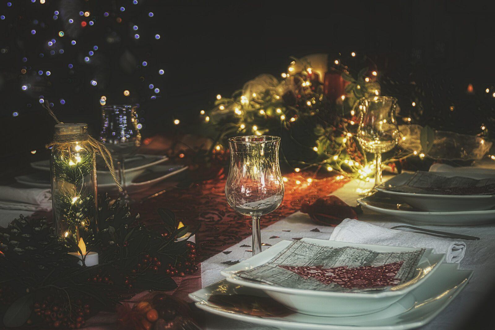 christmas wine dinner