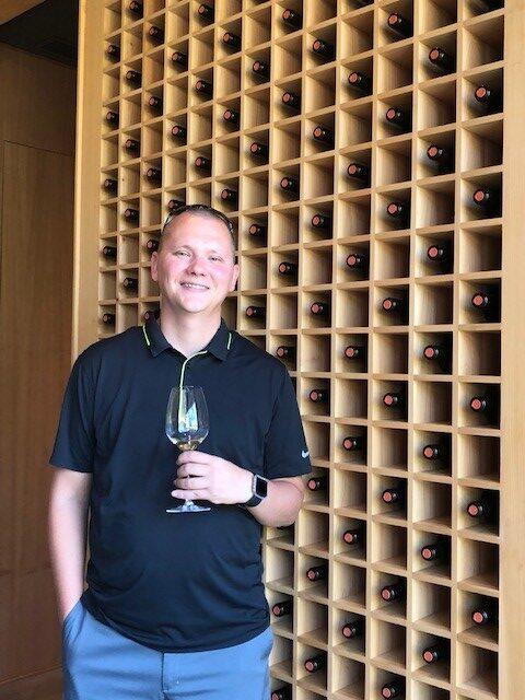Jason exploring new wineries