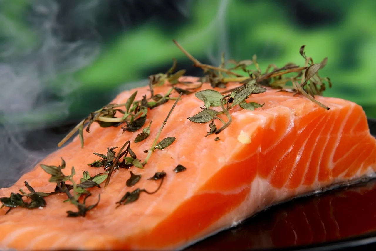 hot salmon