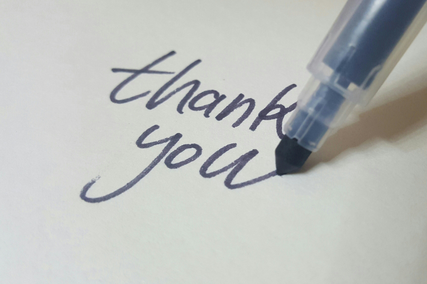 The Importance of Thank You Notes