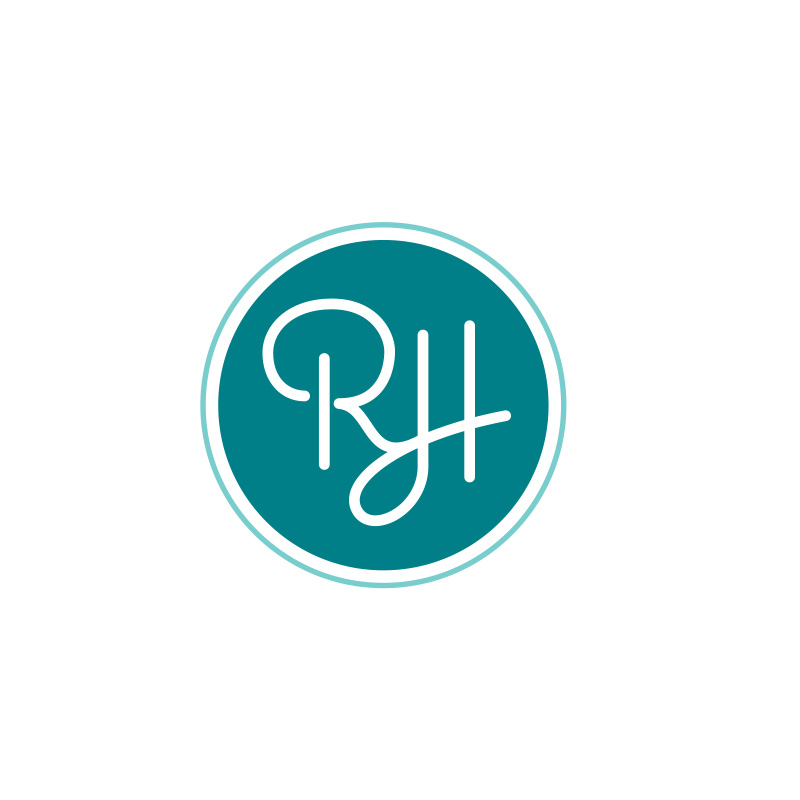 Royal Hawaiian monogram blue