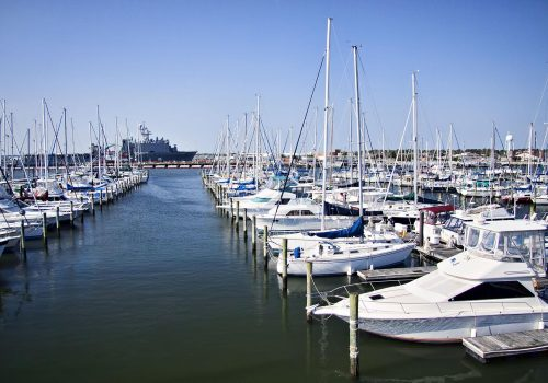 300+ Deep Water Boat Slips | Norfolk VA Marina | Bay Point Marina