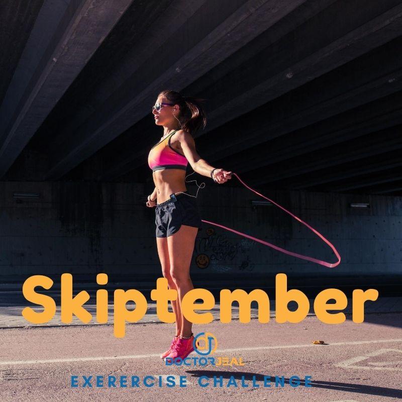 Skiptember Exercise Challenge - DoctorJeal - Female