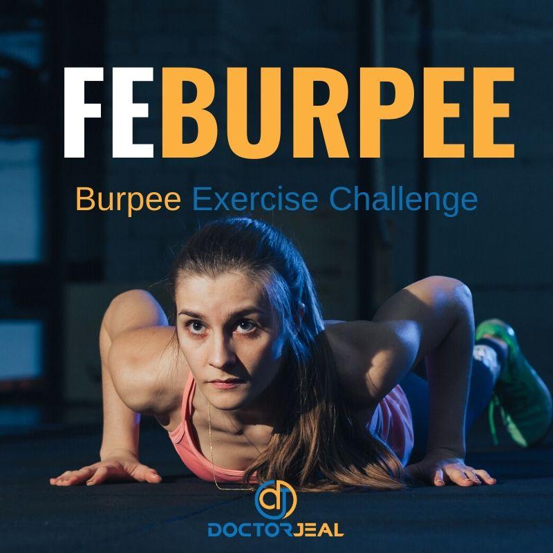 Feburpe Burpee Challenge title