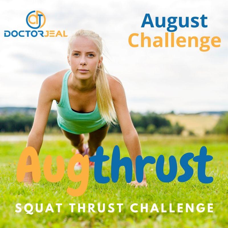 Augthrust Squat Thrust Challenge