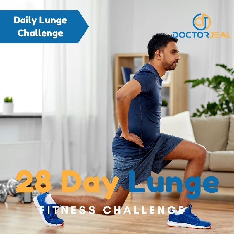 28 Day Lunge Challenge