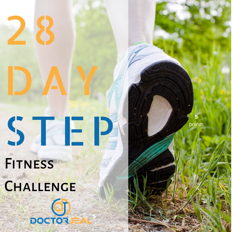 28 Day Step Challenge