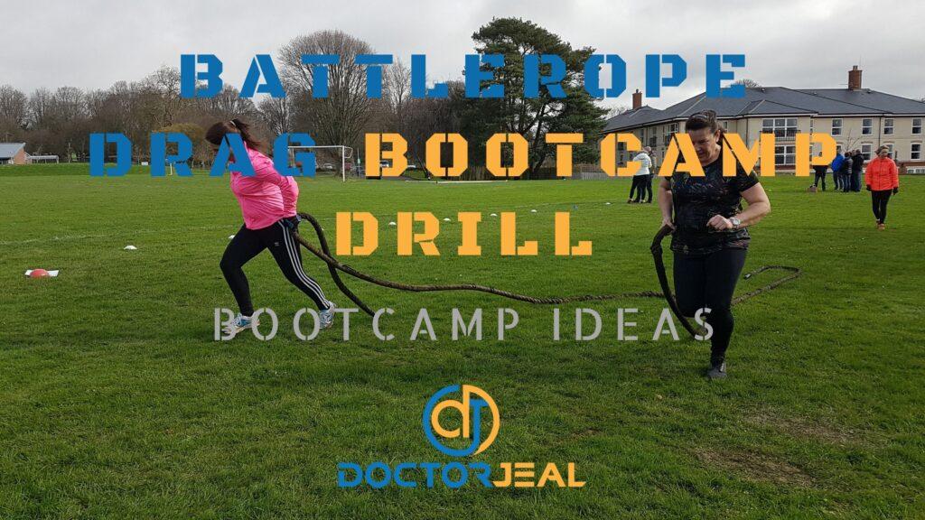 Battlerope Run Bootcamp Drill