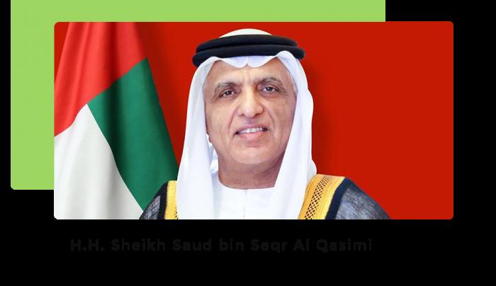 H H Sheikh Saud bin Saqr Al Qasimi