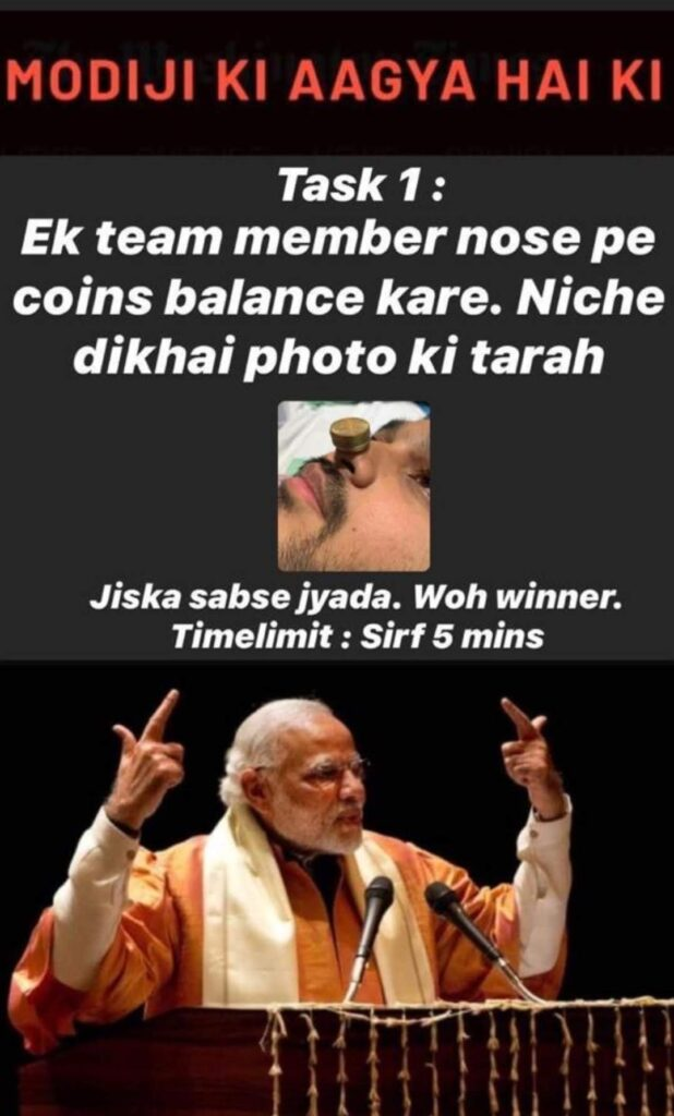 virtual big boss modi