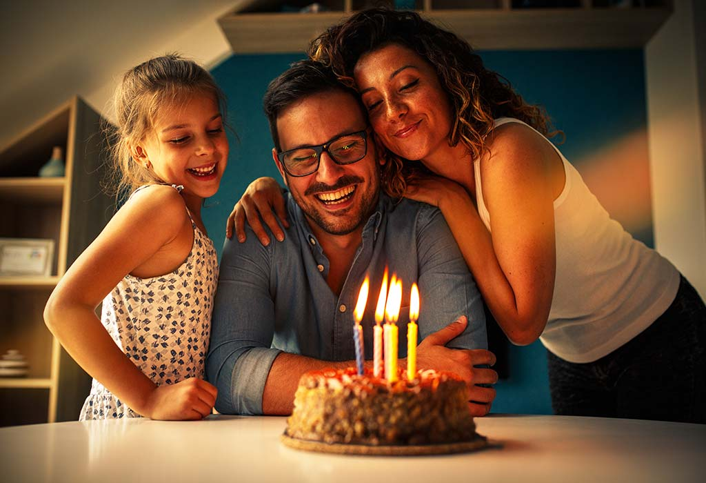 celebrate spouse's birthday at home