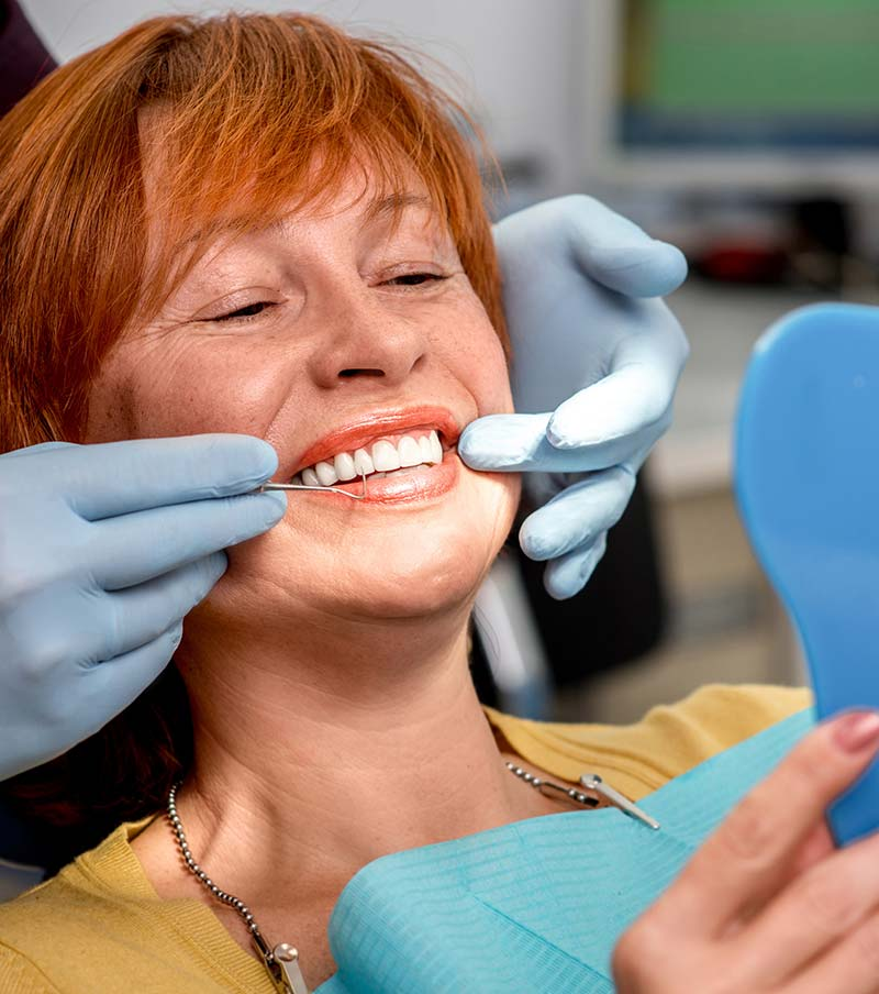 Restorative dentistry treatment in West Sussex