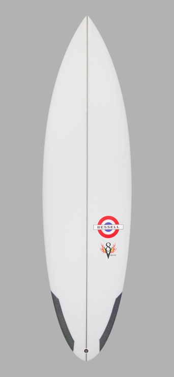 picture of Bessell Surfboards v8 special performance surfboard