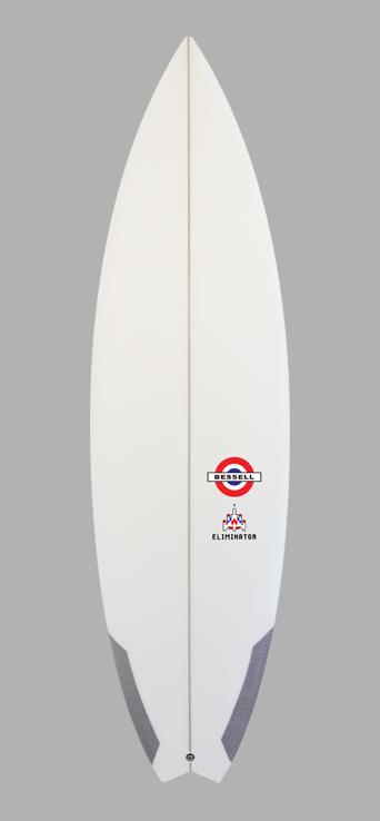 Eliminator   Performance Surfboard by Tim Bessell