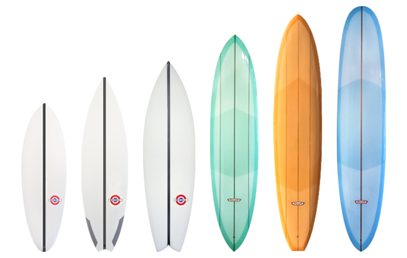 Photo of Bessell Custom SURFBOARDS LINEUP