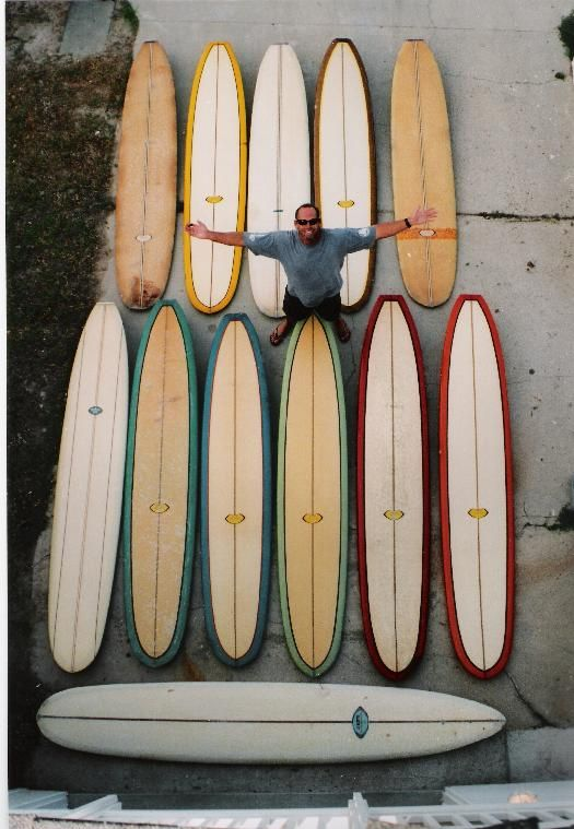 History of hydrodynamics is surfing_ Retro Roundtail Surfboards