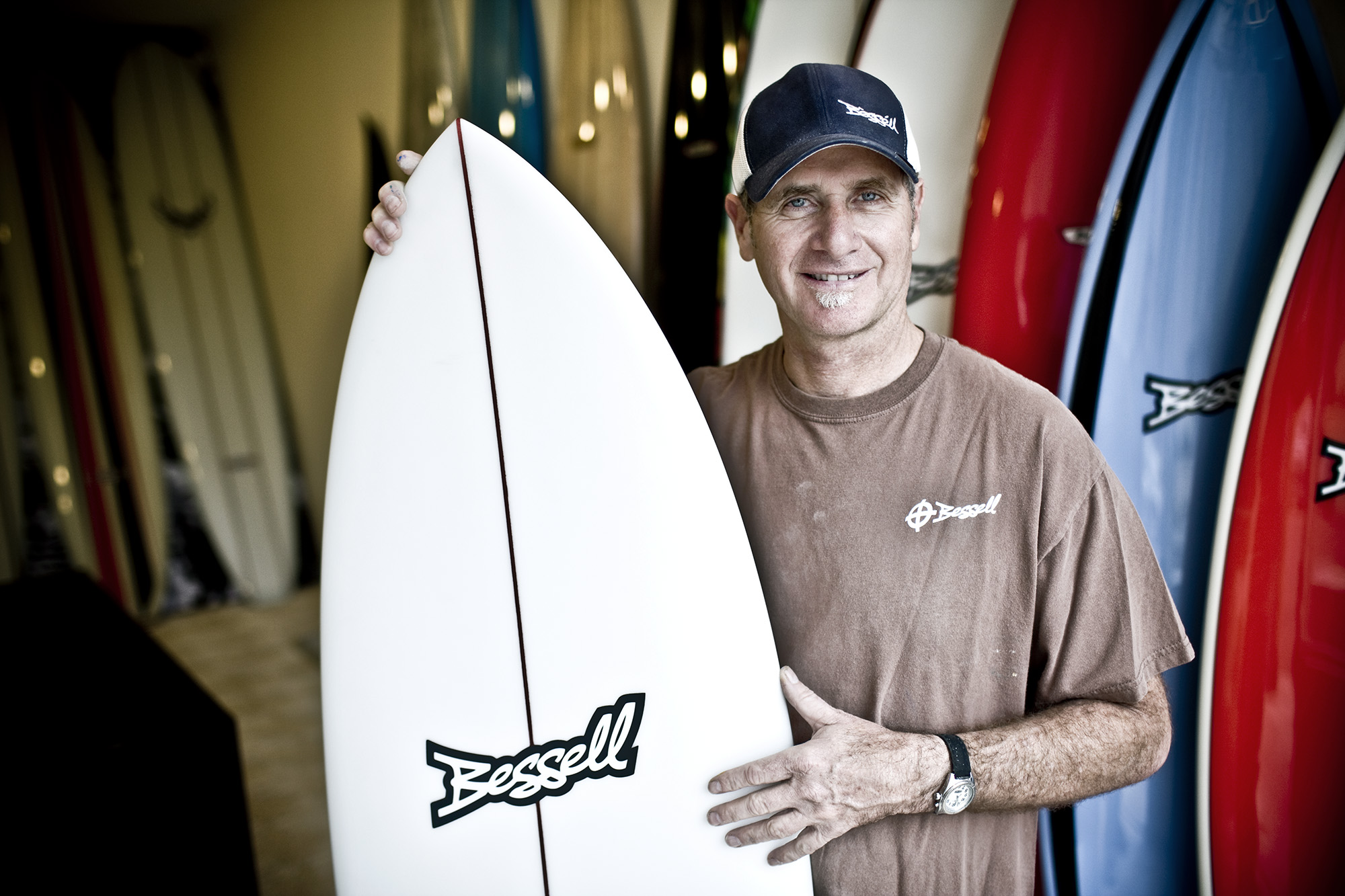 Tim Bessell_Local Surfboard Shapers