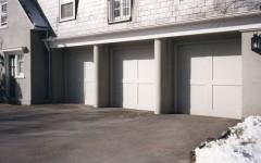 2 panel garage door without windows