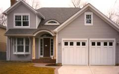 Residential single overhead custom doors
