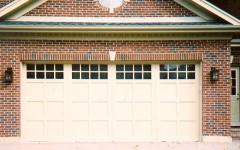 Contemporary garage door with windows 3