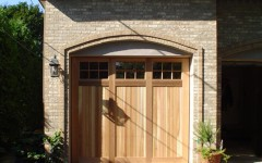 Single Overhead Custom Built Garage Door