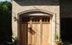 Single Overhead Custom Built Garage Door