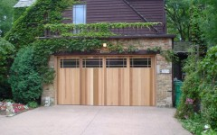 Contemporary Garage Door Design w Windows 2