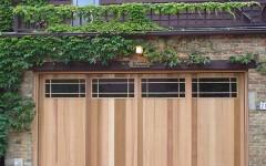 Contemporary Garage Door Design with Windows