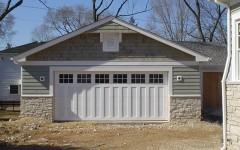 Custom Panel Garage Door - white