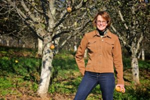 Diane Flynt at Foggy Ridge Cider