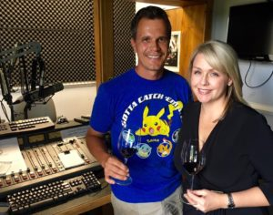 Keswick Winemaker Stephen Barnard and Crystal Cameron Schaad