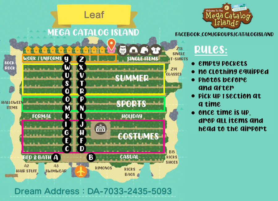 Exciting News! Leaf (Clothing Island) is now opened!